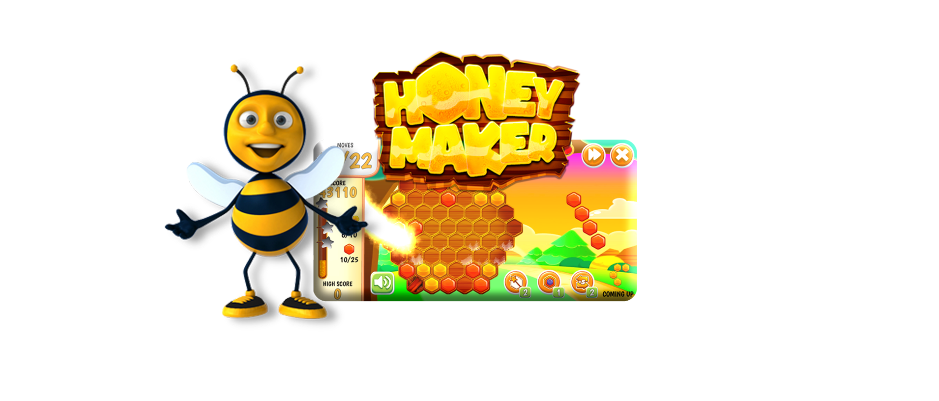 Honey Maker Online Puzzle Game Tournaments