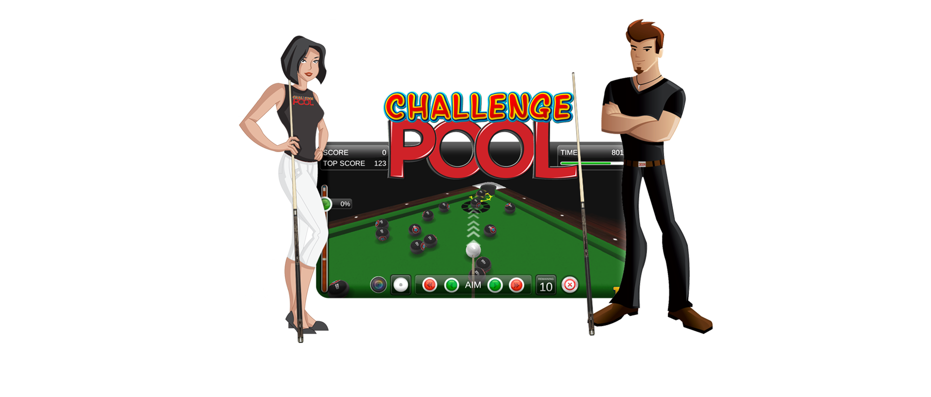 Online Pool Tournaments